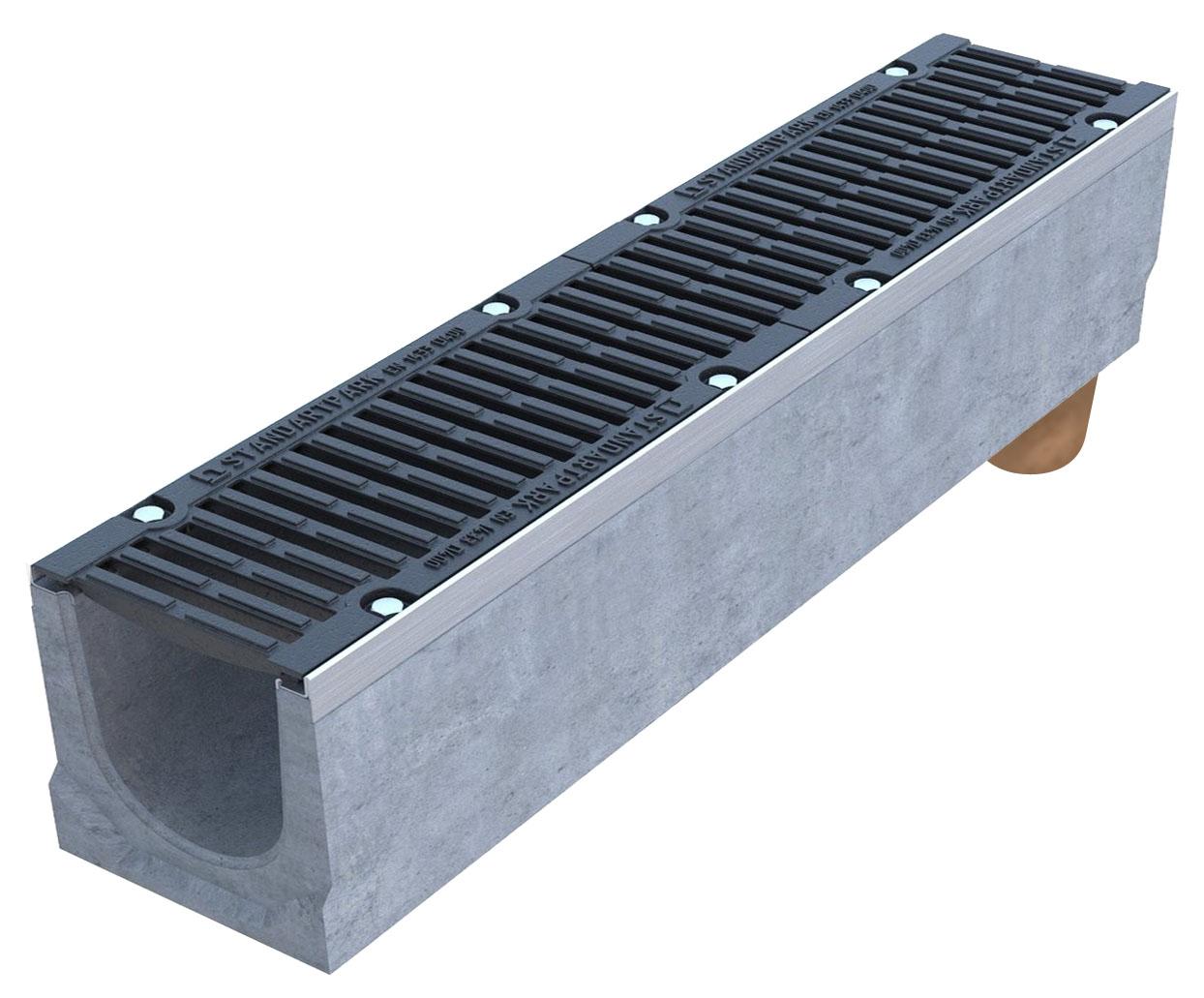 Лоток из фибробетона футбол бетона